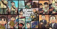 Doraemon Grand Theft Auto Banner22
