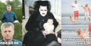 10 Foto Keluarga Yang Terlihat Kacau