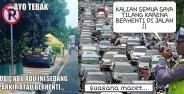 Meme Stop Parkir Banner