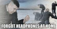 Akibat Headset Ketinggalan