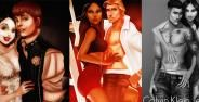 Karakter Disney Gaya Justin Bieber Banner