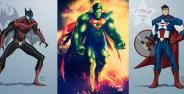 Fusion Karakter Marvel Dengan Dc Comics