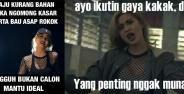 Meme Lucu Awkarin Young Lex Bad Banner