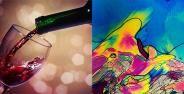 Minuman Beralkohol Dilihat Dari Mikroskop Banner