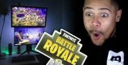 Setup Gaming Fortnite Terbesar Di Dunia Unbox Theraphy Banner Fca3d