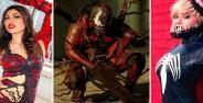 Cosplay Venom Wanita 36d2d