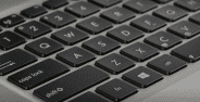 Tombol F J Keyboard Cover