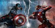 Iron Man Captain America Civil Wars Banner