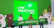 Line Creativate 2016 Ajang Kreativitas Indonesia Banner