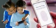 Children Play Iphone
