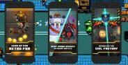 Evil Factory Game 8 Bit Dengan Pertempuran Mengagumkan