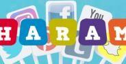 Media Sosial Haram Banner