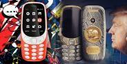 Nokia 3310 Trump Putin Banner