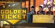 Dunia Games Golden Ticket 2019 Banner C750d
