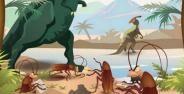 Di Zaman Purba Kecoak Makan Kotoran Dinosaurus 449d7