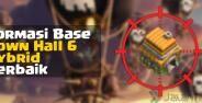 Base Hybrid Coc Th 6 Banner
