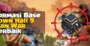 Base War Coc Th 9 Banner