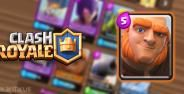 Battle Deck Giant Clash Royale Banner