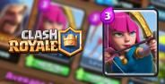 Battle Deck Archers Clash Royale Banner