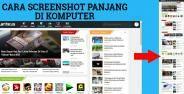 Cara Screenshot Panjang Halaman Web Di Komputer Banner