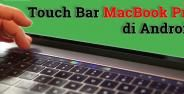 Touchbar Macbook Pro Di Android Banner