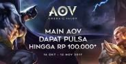 Event Pulsa Gratis Arena Of Valor