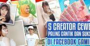 Creator Cewek Facebook Gaming Banner 989da