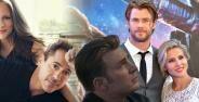 Pasangan Asli Pemeran Avengers Banner Db44f