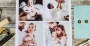Photo Collage Of A Family With A Baby 7a0d8