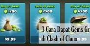 3 Cara Dapat Gems Gratis Di Clash Of Clans