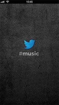 Twitter Music Home