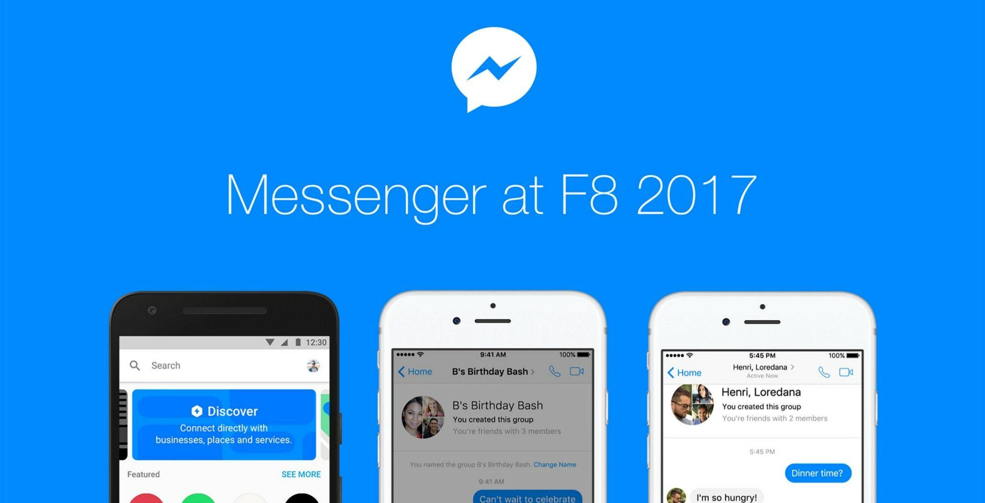 Facebook Messenger Platform 2.0