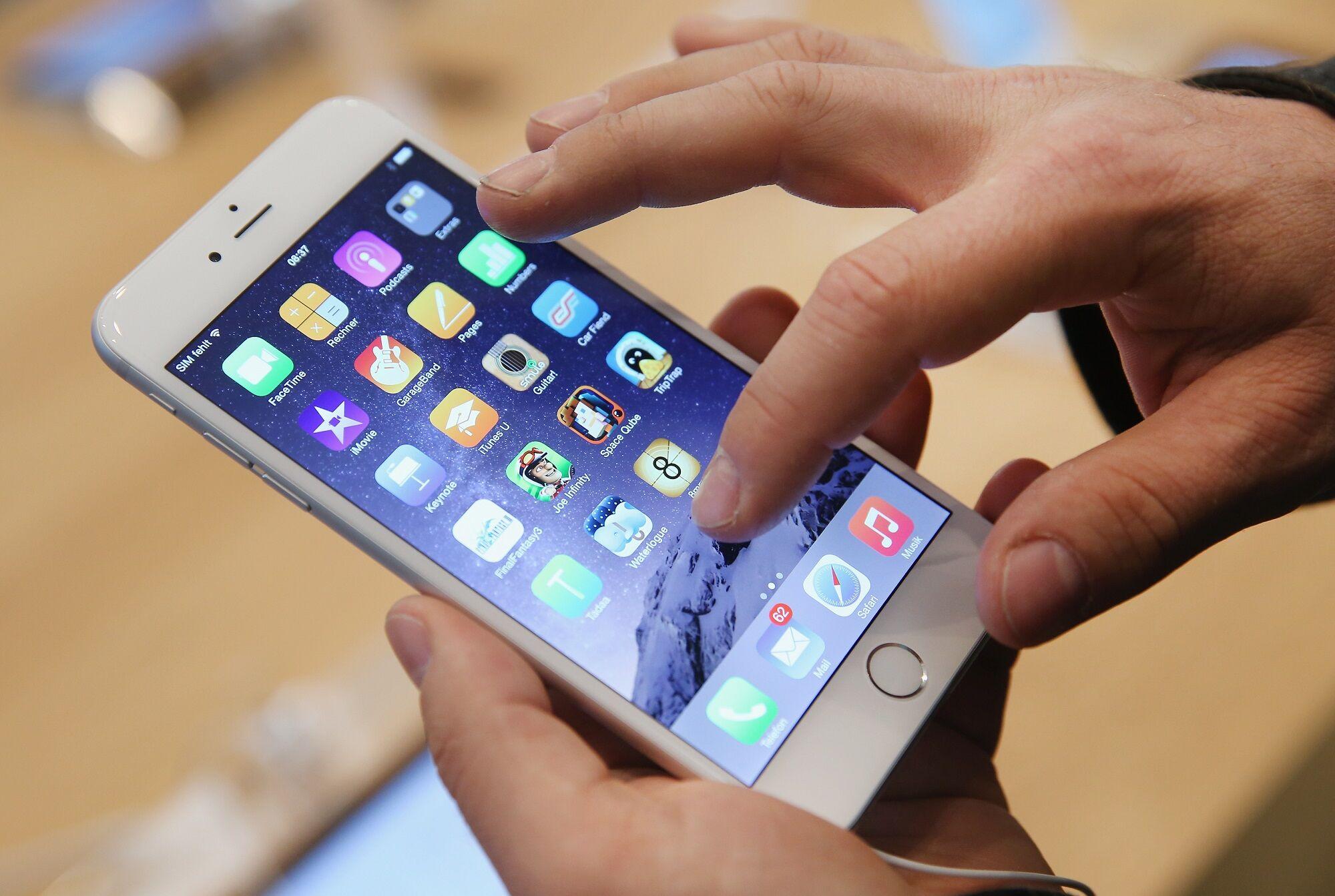 Jangan tekan layar smartphone
