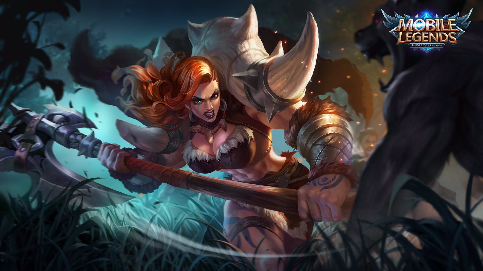Wallpaper-Mobile-Legends-Hilda-Power-of-Megalith