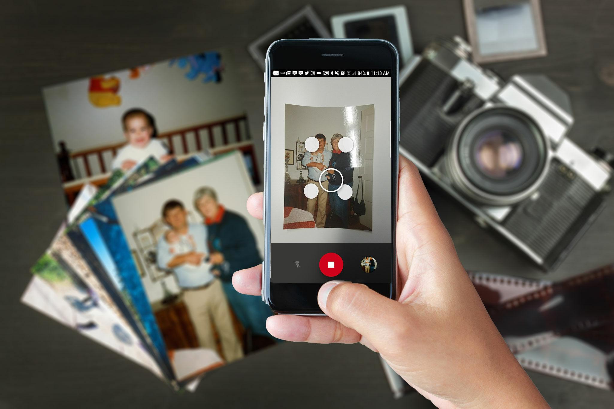 Scan merupakan aplikasi terbaik untuk memindai dan menyimpan foto lama kamu Aplikasi ini sangat sederhana kamu