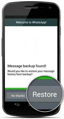 Cara Kembalikan History Chat Whatsapp 2