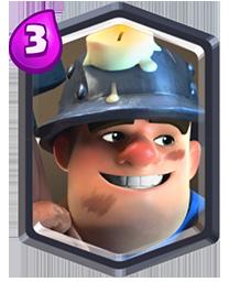 Kartu Legendary Miner