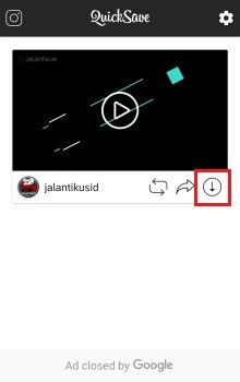 aplikasi save video ig