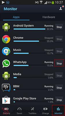 4 Cara Menghentikan Aplikasi Android Yang Boros Baterai 4