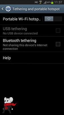 Cara Mengubah Android Menjadi Modem WiFi 3