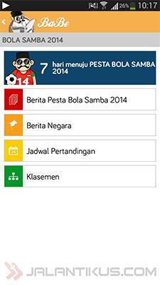 Jadwal Pertandingan Dan Informasi Piala Dunia 2014 Lengkap Di BaBe 1