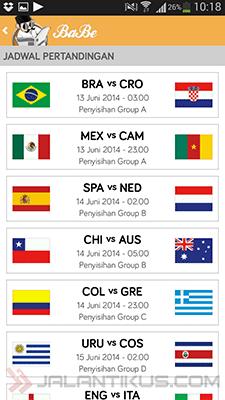 Jadwal Pertandingan Dan Informasi Piala Dunia 2014 Lengkap Di BaBe 4