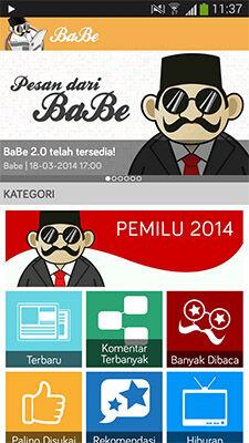 Berita Pemilu 2014 Lengkap Ada Di BaBe 1