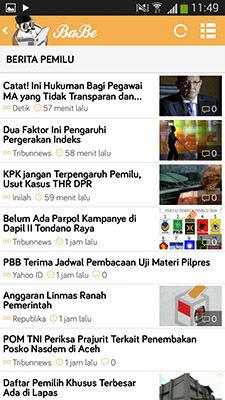 Berita Pemilu 2014 Lengkap Ada Di BaBe 3