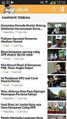 Berita Pemilu 2014 Lengkap Ada Di BaBe 7