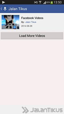 Cara Download Video Facebook Di Android 2