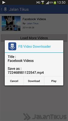 Cara Download Video Facebook Di Android 3