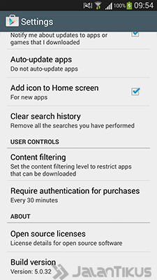 Download Update Google Play Store 5 0 32 APK 2
