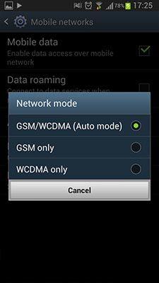 Cara Menghemat Baterai Android Melalui Mobile Network 3