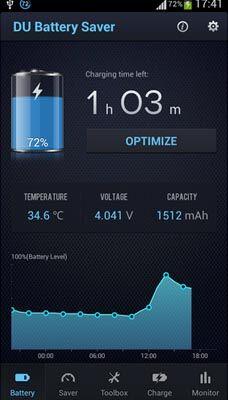 Menghemat Baterai Android Dengan Du Battery Saver 2